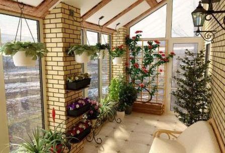 Зимний сад для загородного дома
