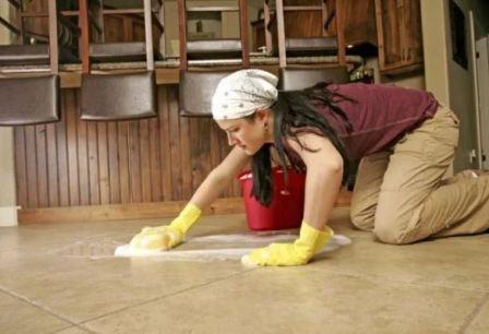 Как и чем можно отмыть плитку и керамогранит после ремонта