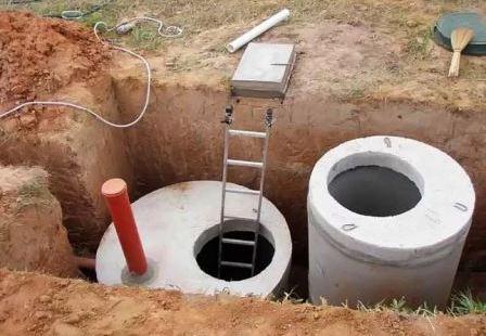 Устройство канализации в частном доме