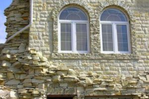 Декоративный фасадный камень