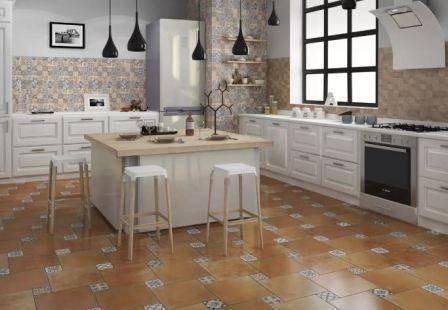 Керамогранит и плитка для кухни