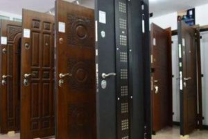 Классификация стальных дверей