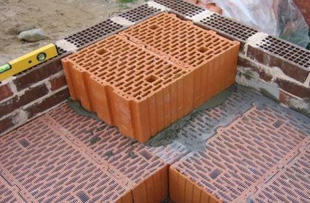 Отделка домов из керамоблоков