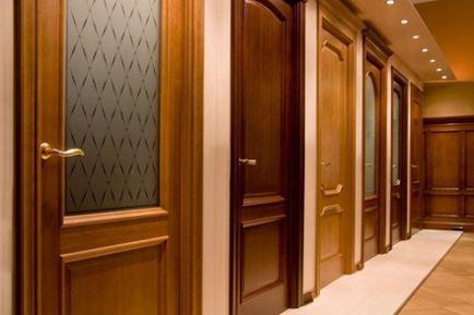 Распашная комнатная дверь