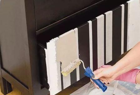 Какой краской красить мебель из ДСП