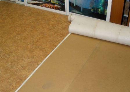 Шумоизоляция под линолеум на бетонный пол