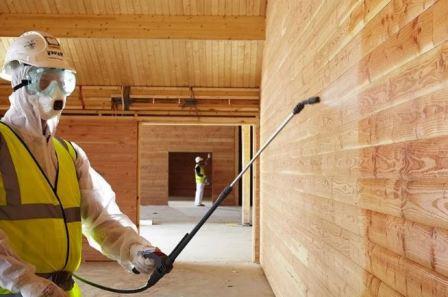 Защитная пропитка древесины