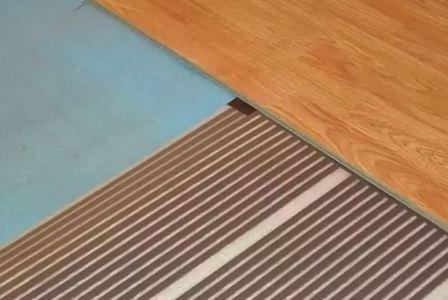 Подложка под пленочный теплый пол под ламинат