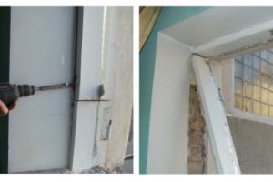 Установка пластиковых окон в старых домах