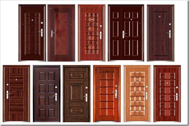 Выбор входной двери.