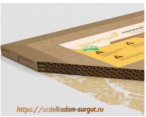 Плиты из гофрированного картона Sonoplat