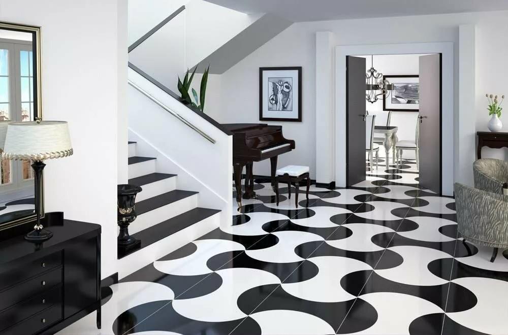 Двери и пол - сочетание в интерьере: нестандартные цветовые решения
