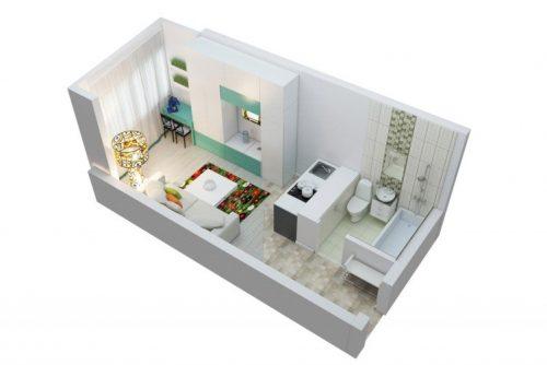 Совмещение кухни с жилой комнатой – признак бюджетного жилья, а не элитного