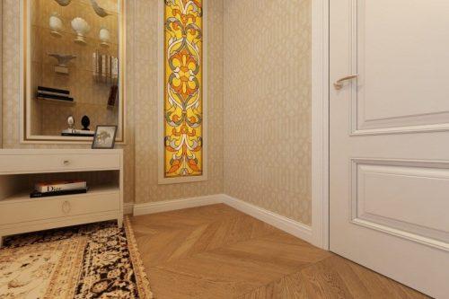 Двери и пол - сочетание в интерьере: как подбирать цвет и фактуру материала