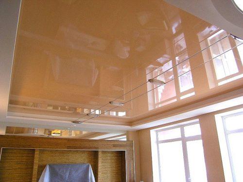Натяжные потолки ПВХ фото
