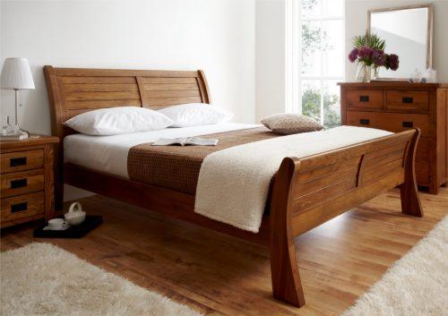 Деревянные кровати: виды и преимущества