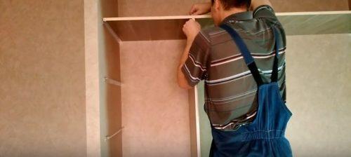 Как сделать встроенный гардероб