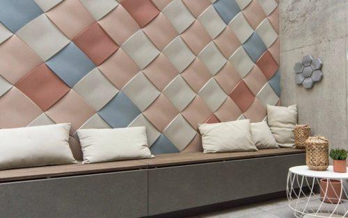 Декоративная плитка из цветного бетона
