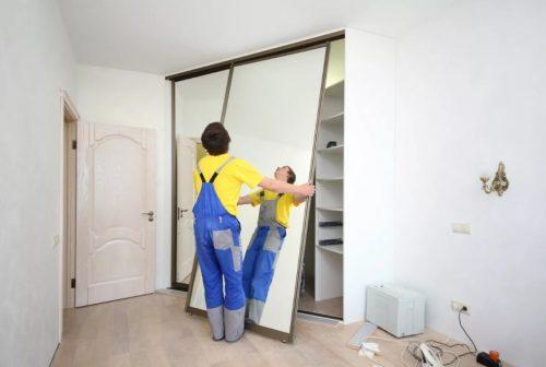 Как сделать двери в гардеробную