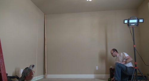 Разметка стен, пола и потолка