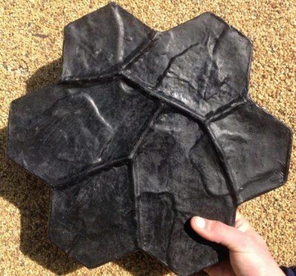 Штамп для формирования рельефа каменной кладки