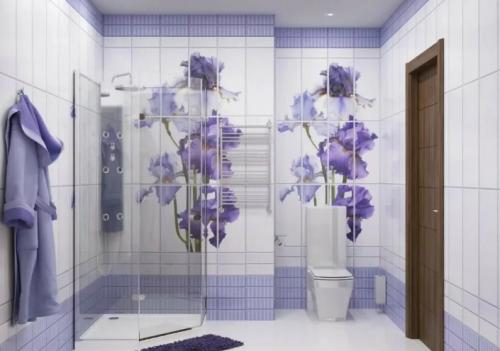 Ванная комната в пластиковых панелях