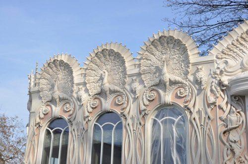 Великолепие фасадной архитектуры в стиле модерн