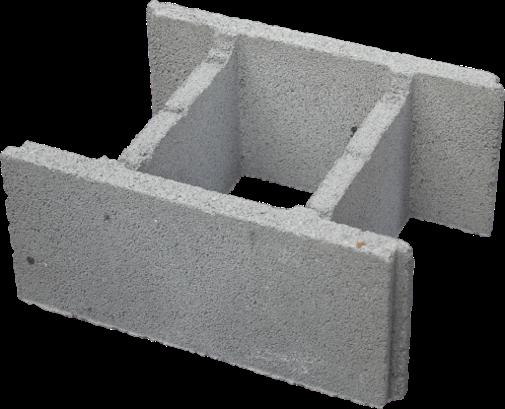Блок малого формата из полистиролбетона