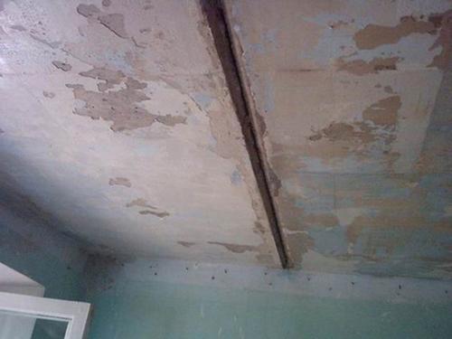 Зачищенный потолок