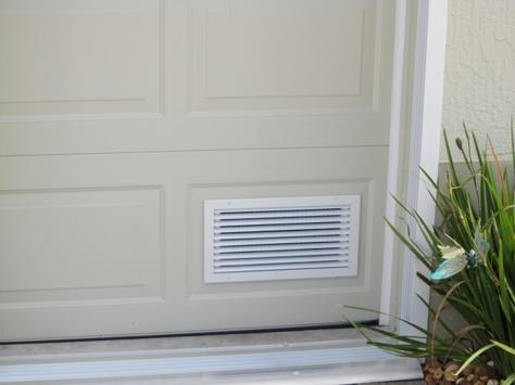 Пример вентиляционной дверной решетки