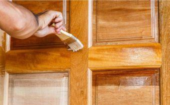 Покраска дверей межкомнатных своими руками