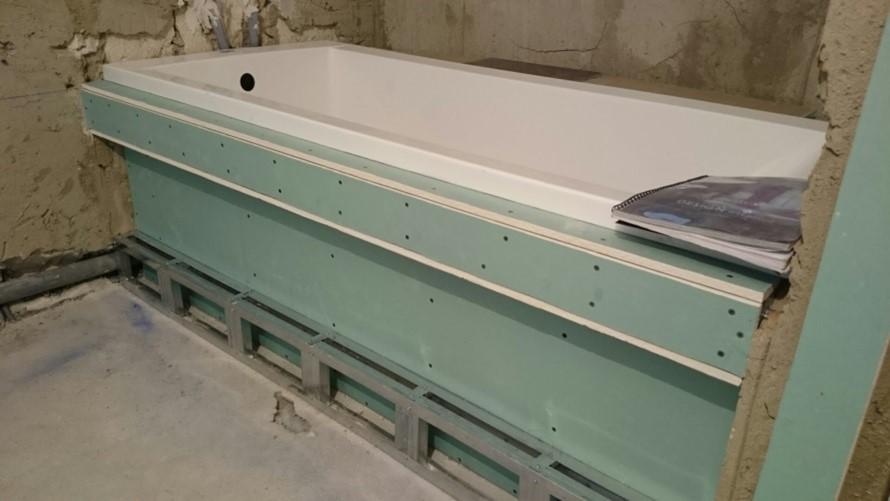Короба в ванной из гипсокартона – схема и порядок сборки, полезные советы