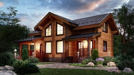 Дом из бруса: отличное решение для дачи